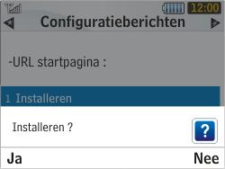 Samsung S3350 Chat 335 - Internet - Automatisch instellen - Stap 6
