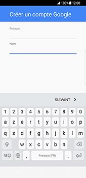 Samsung Galaxy S8 - Applications - Créer un compte - Étape 6