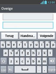 LG E430 Optimus L3 II - E-mail - e-mail instellen: POP3 - Stap 7
