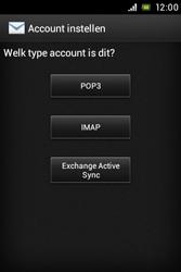 Sony ST23i Xperia Miro - E-mail - e-mail instellen: POP3 - Stap 6