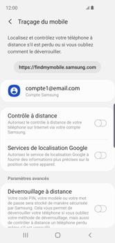 Samsung Galaxy S10e - Appareil - configurer Localiser mon appareil - Étape 6
