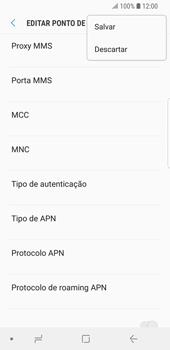 Samsung Galaxy S9 - Internet (APN) - Como configurar a internet do seu aparelho (APN Nextel) - Etapa 16