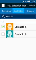 Samsung Galaxy Core Prime - Mensajería - Escribir y enviar un mensaje multimedia - Paso 8