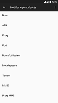 OnePlus 3 - Android Oreo - MMS - Configuration manuelle - Étape 8
