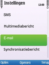 Nokia 6700 slide - E-mail - Handmatig instellen - Stap 26
