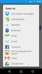 Sony Xperia Z5 (E6653) - Internet - Hoe te internetten - Stap 18