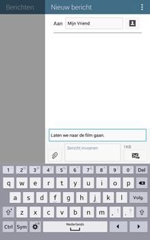 Samsung T335 Galaxy Tab 4 8-0 - MMS - Afbeeldingen verzenden - Stap 11