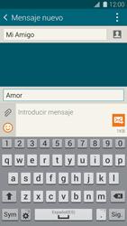 Samsung G900F Galaxy S5 - Mensajería - Escribir y enviar un mensaje multimedia - Paso 12