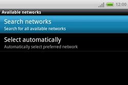 HTC A810e ChaCha - Network - Usage across the border - Step 7