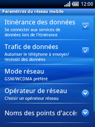 Sony Ericsson Xperia X10 Mini - Mms - Configuration manuelle - Étape 6