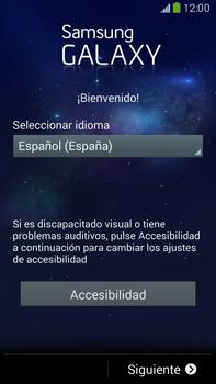 Samsung Galaxy Note 3 - Primeros pasos - Activar el equipo - Paso 4