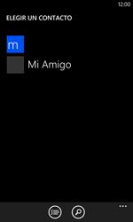 Nokia Lumia 520 - Mensajería - Escribir y enviar un mensaje multimedia - Paso 6