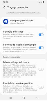 Samsung Galaxy A40 - Appareil - configurer Localiser mon appareil - Étape 8