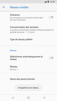 Nokia 8 Sirocco - Réseau - Sélection manuelle du réseau - Étape 11