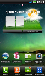 LG P990 Optimus 2X Speed - Paramètres - Reçus par SMS - Étape 3