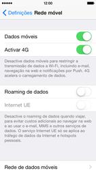 Apple iPhone 5s iOS 8 - Internet no telemóvel - Como ativar 4G -  5