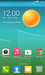 Alcatel One Touch POP S3 4G (OT-5050X) - Applicaties - Account aanmaken - Stap 1