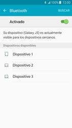 Samsung Galaxy J5 - Bluetooth - Conectar dispositivos a través de Bluetooth - Paso 6