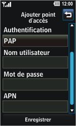 LG GD510 Pop - MMS - Configuration manuelle - Étape 7