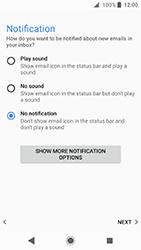 Sony Xperia XA2 - E-mail - Manual configuration POP3 with SMTP verification - Step 22