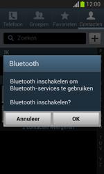 Samsung S7390 Galaxy Trend Lite - Contacten en data - Contacten overzetten via Bluetooth - Stap 10