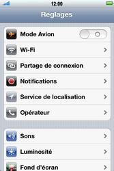 Apple iPhone 4 S - Réseau - utilisation à l'étranger - Étape 6
