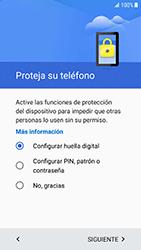 Samsung Galaxy S6 - Android Nougat - Primeros pasos - Activar el equipo - Paso 9