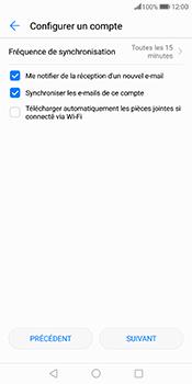 Huawei Mate 10 Pro - E-mail - Configurer l