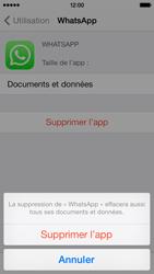 Apple iPhone 5c - Applications - Supprimer une application - Étape 7