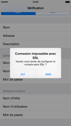 Apple iPhone 6 iOS 8 - E-mail - Configuration manuelle - Étape 15