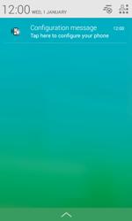 Alcatel Pop S3 (OT-5050X) - Internet - Automatic configuration - Step 4