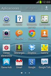 Samsung S6310 Galaxy Young - Bluetooth - Transferir archivos a través de Bluetooth - Paso 3