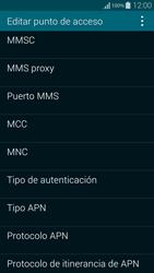 Samsung G850F Galaxy Alpha - Mensajería - Configurar el equipo para mensajes multimedia - Paso 12
