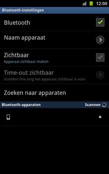 Samsung N7000 Galaxy Note - Bluetooth - koppelen met ander apparaat - Stap 9