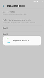 Samsung Galaxy J5 (2017) - Red - Seleccionar una red - Paso 12