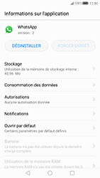 Huawei P10 Lite - Applications - Supprimer une application - Étape 5