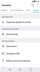 LG G5 - Sécuriser votre mobile - Personnaliser le code PIN de votre carte SIM - Étape 4