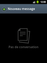 Samsung S5360 Galaxy Y - SMS - configuration manuelle - Étape 3