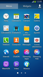 Samsung Galaxy S4 Mini - Red - Seleccionar el tipo de red - Paso 3