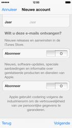Apple iPhone 5c - Applicaties - Account aanmaken - Stap 17
