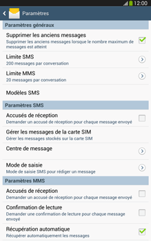 Samsung T315 Galaxy Tab 3 8-0 LTE - SMS - configuration manuelle - Étape 6