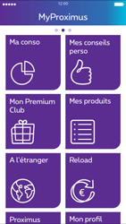 Apple iPhone 4s iOS 8 - Applications - MyProximus - Étape 15