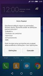 Huawei Y6 (2017) - Primeiros passos - Como ligar o telemóvel pela primeira vez -  19