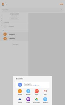 Samsung galaxy-tab-a-10-1-android-oreo - Contacten en data - Contacten overzetten via Bluetooth - Stap 8