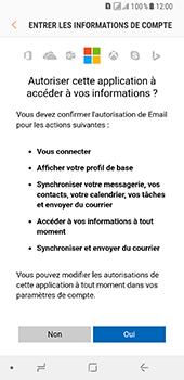 Samsung Galaxy A8 - E-mails - Ajouter ou modifier votre compte Outlook - Étape 9
