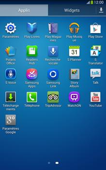 Samsung Galaxy Tab 3 8 4G - Internet et connexion - Activer la 4G - Étape 3