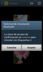 Samsung i8260 Galaxy Core - Bluetooth - Transferir archivos a través de Bluetooth - Paso 13
