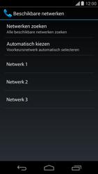 Motorola Moto G - Netwerk selecteren - Handmatig een netwerk selecteren - Stap 9
