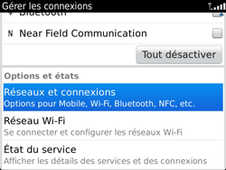 BlackBerry 9900 Bold Touch - Internet - Utilisation à l