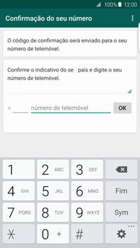 Samsung Galaxy S6 Edge + - Aplicações - Como configurar o WhatsApp -  10